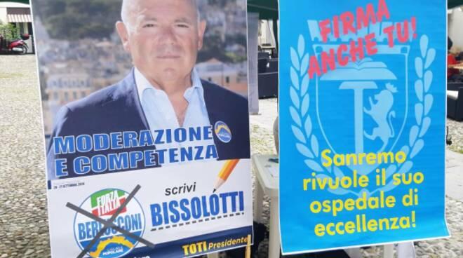riviera24 - banchetto di Liguria Popolare