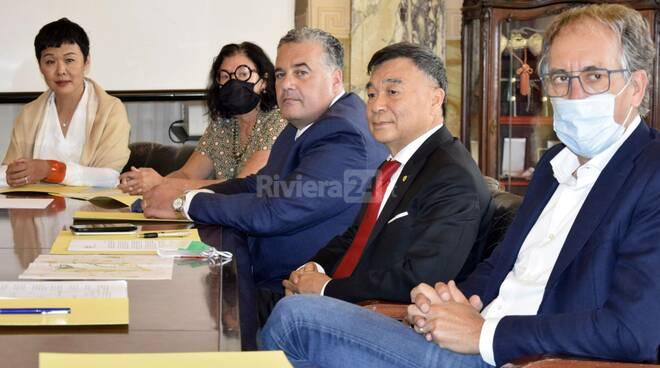 riviera24 - delegazione senatore cinese zhu biancheri amelio