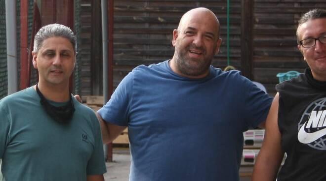 riviera24 - Ernesto Demme, Piero Aimone e Pietro Lettieri