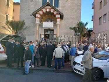 riviera24 -  Funerali di Flaviano Comandi
