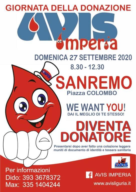 riviera24 - Giornata della Donazione Avis