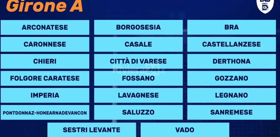 riviera24 - Girone A Serie D