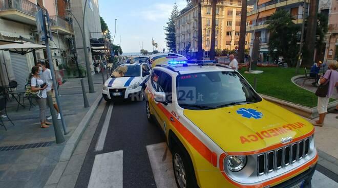 riviera24 - incidente corso mombello soccorsi 118