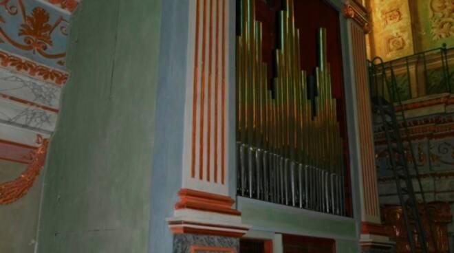 Riviera24- organo santa trinità taggia