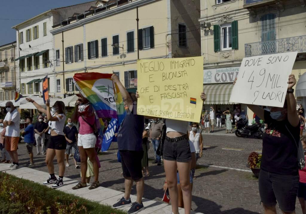 riviera24 - proteste contro slavini