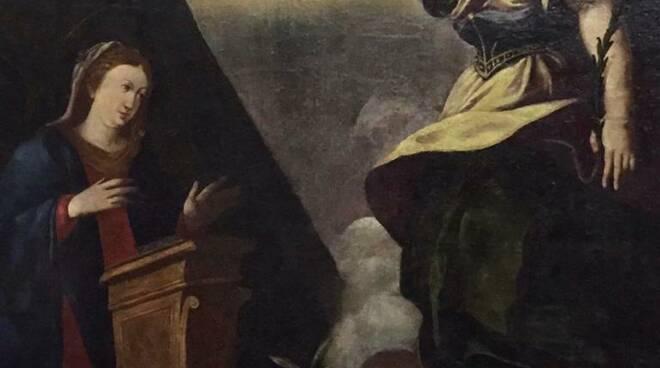 riviera24 - Quadro dell'Annunciazione