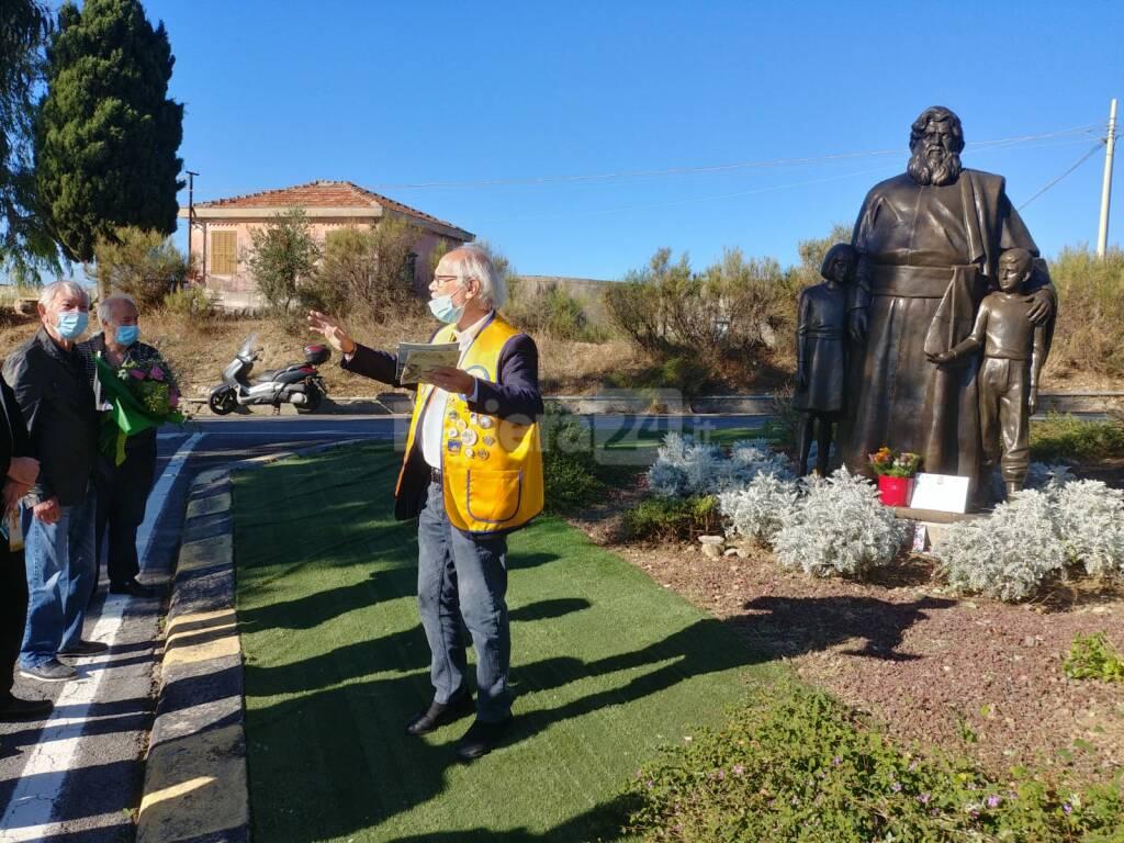 riviera24 - Statua di Padre Giovanni Semeria