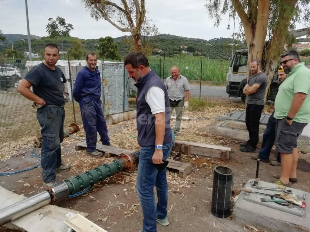 sostituzione tubo San Bartolomeo al mare
