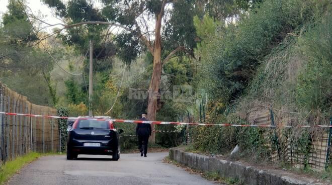 carabinieri cadavere ventimiglia