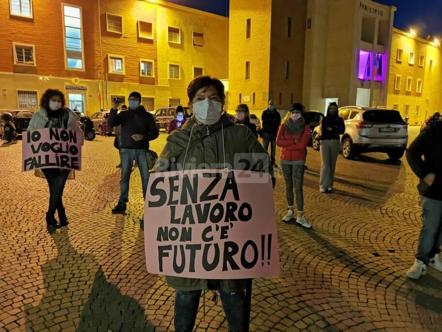 Donne imprenditrici manifestano a Ventimiglia