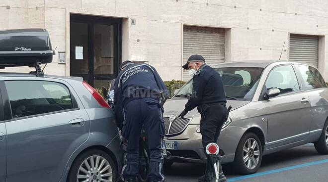 incidente viale matteotti imperia