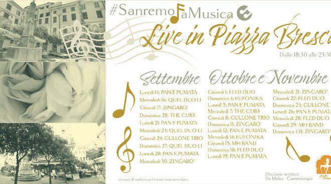 Live in Piazza Bresca