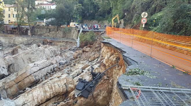 Maltempo, i danni a Badalucco