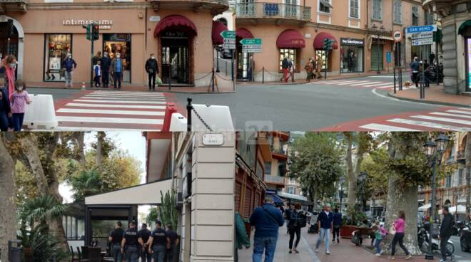 Mascherine obbligatorie Ventimiglia