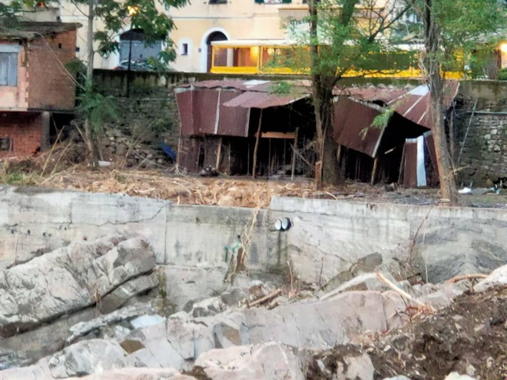 Molini Triora strada ricostruita danni maltempo alluvione