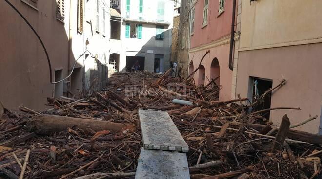 Riviera24 - alluvione 2020 ottobre vessalico