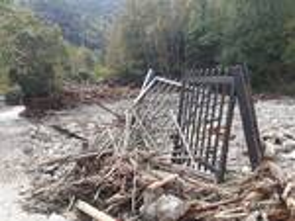 riviera24 - Ceriana, alluvione in località Bellando