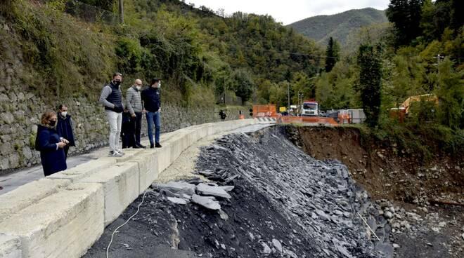 riviera24 - frana molini triora alluvione 2020