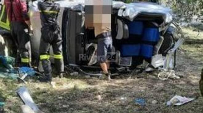riviera24- Incidente a Bevera