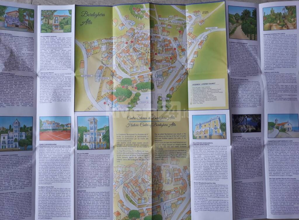riviera24 - Mappa Bordighera
