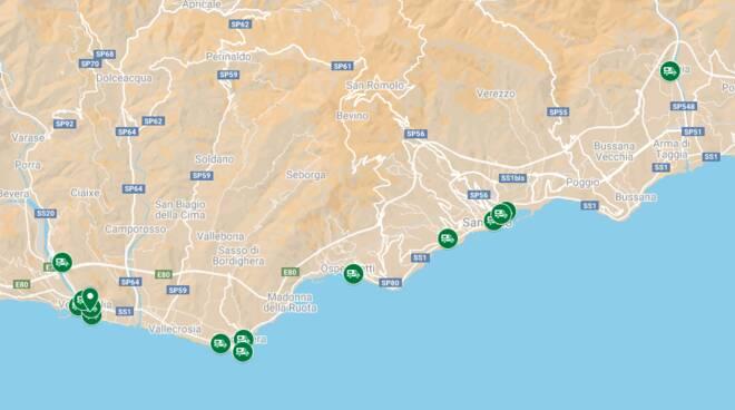 Riviera24- mappa locali