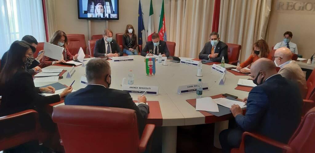 riviera24 -  Nuova Giunta Regionale Insediamento