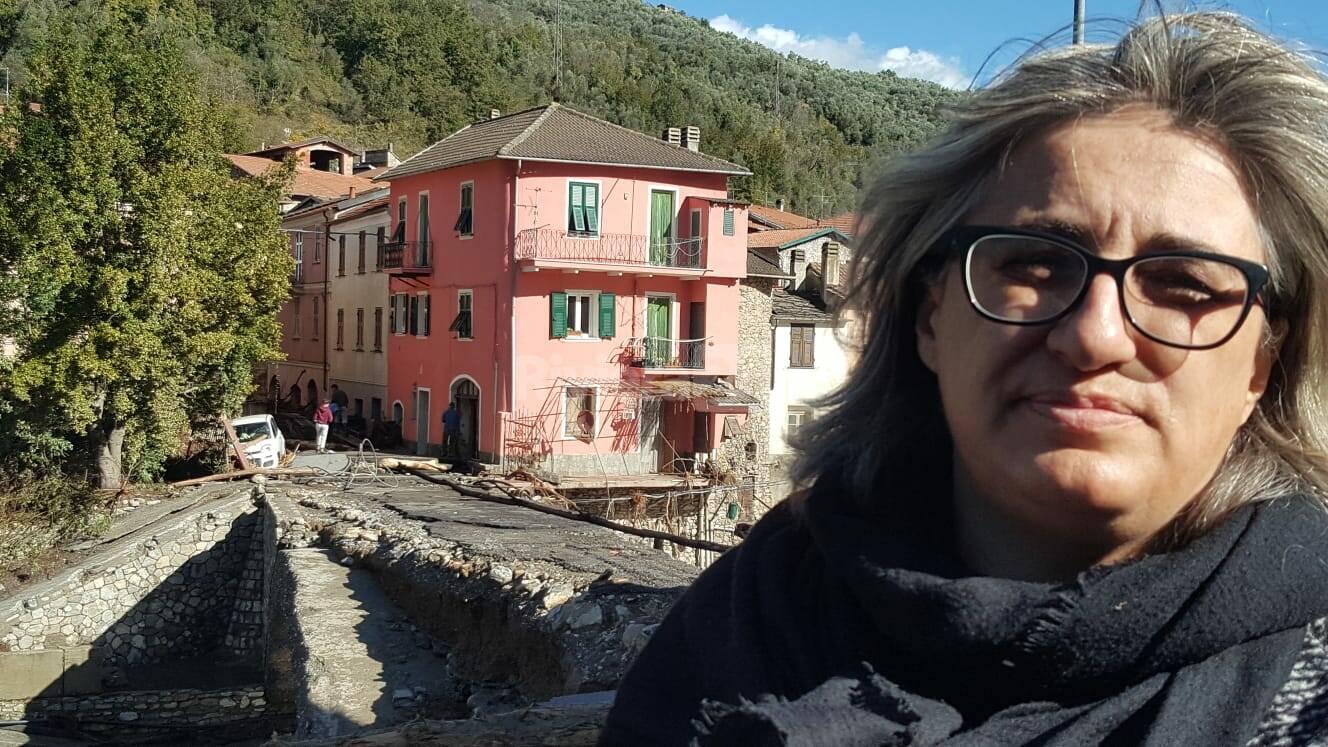 RIVIERA24 - Paola Giliberti SINDACO VESSALICO ALLUVIONE 2020 OTTOBRE