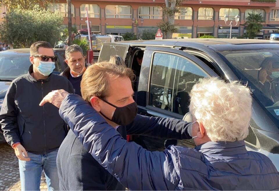 riviera24 - scajola toti giampedrone alluvione 2020 ottobre