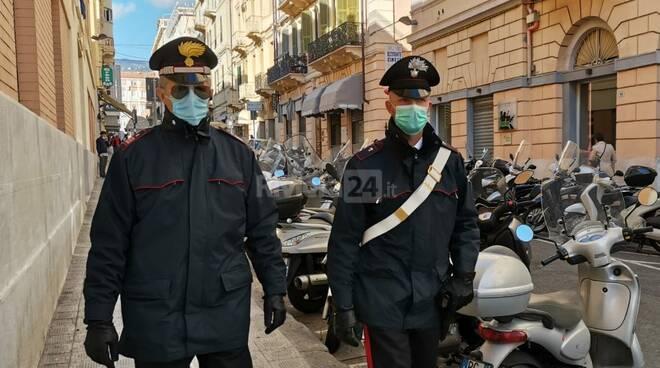 carabinieri controlli sanremo farchetti