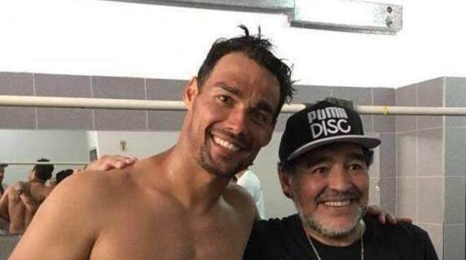 fognini Maradona