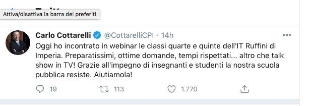 cottarelli twitter ruffini