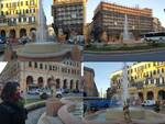 fontana piazza dante collage