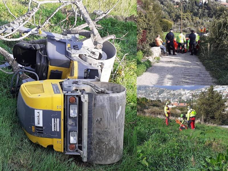 Incidente lavoro Sanremo
