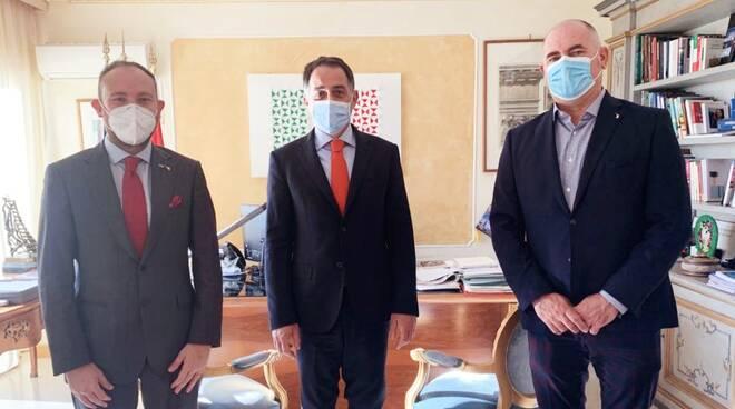Massimo Giordanengo, Giulio Alaimo e Flavio Di Muro