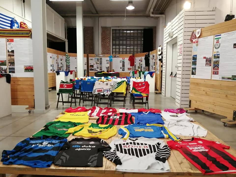 mostra sul calcio delle comunità seborga