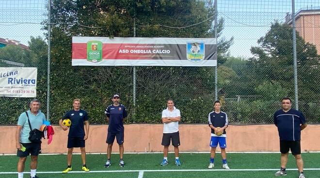 Oneglia Calcio e Genoa CFC