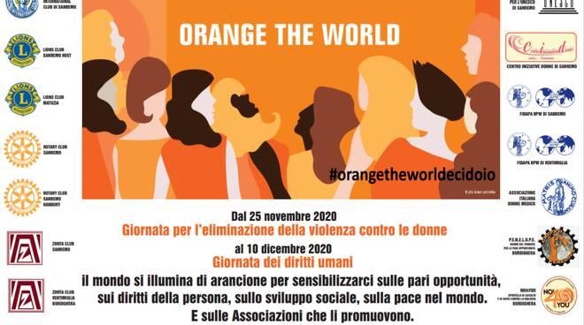 """Orange the world"""