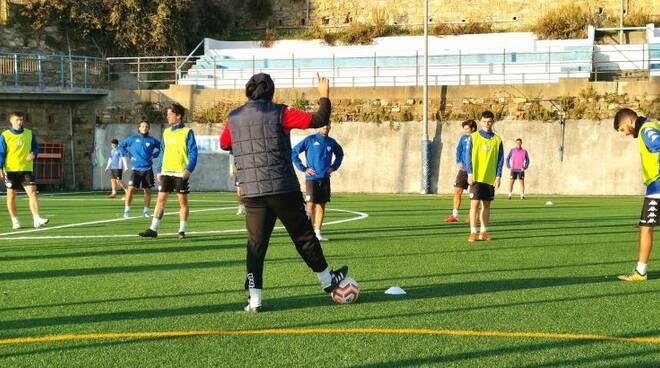 riviera24 - Sanremese Calcio allenamenti