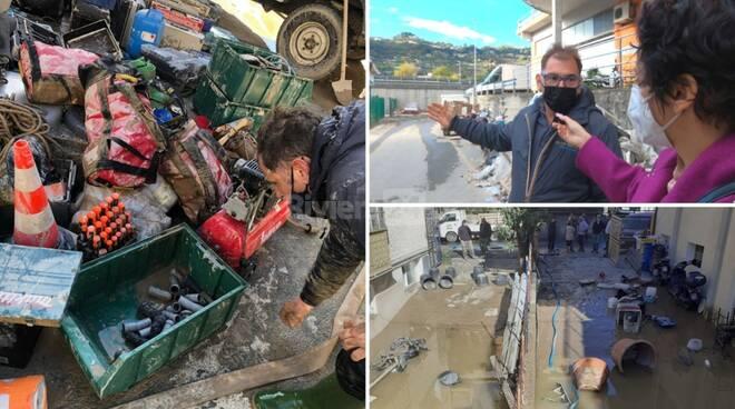 servizio alluvione roverino