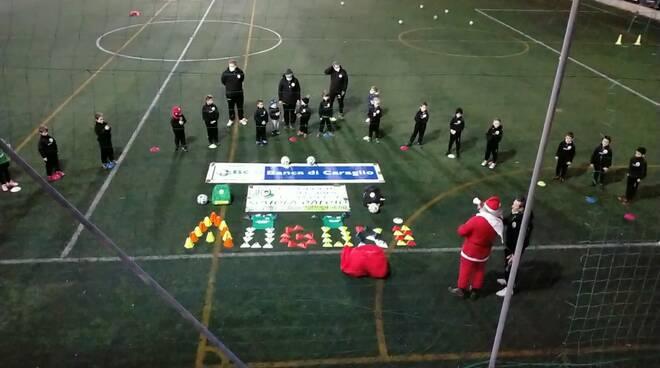 Babbo Natale alla Polisportiva Salesiani Vallecrosia