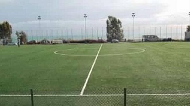 Campo sportivo a Pian di Poma
