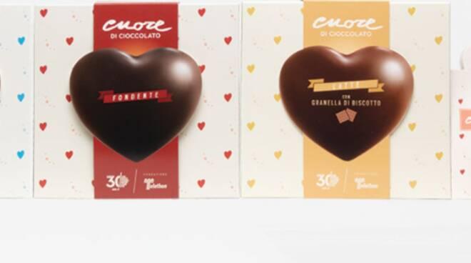 Cuore di cioccolato  Telethon