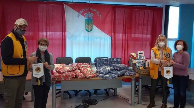 Donazione di Lions Club Bordighera Otto Luoghi al Comune di Vallecrosia