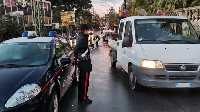 Esplode acquedotto Sanremo carabinieri vigili