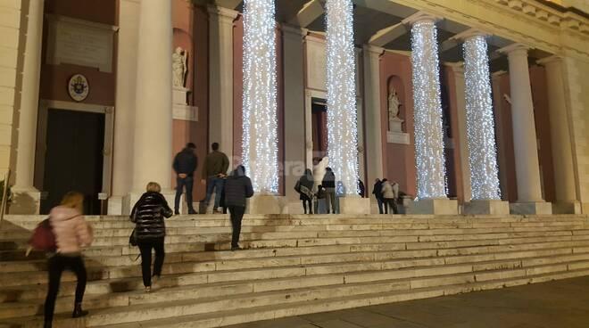 messa di Natale 2020 Duomo Porto Maurizio