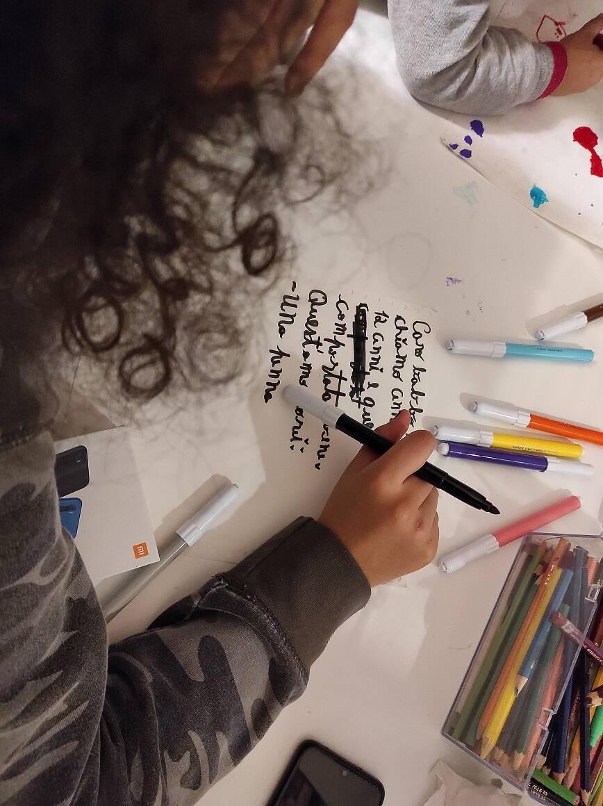Lettera di Natale di minori in difficoltà