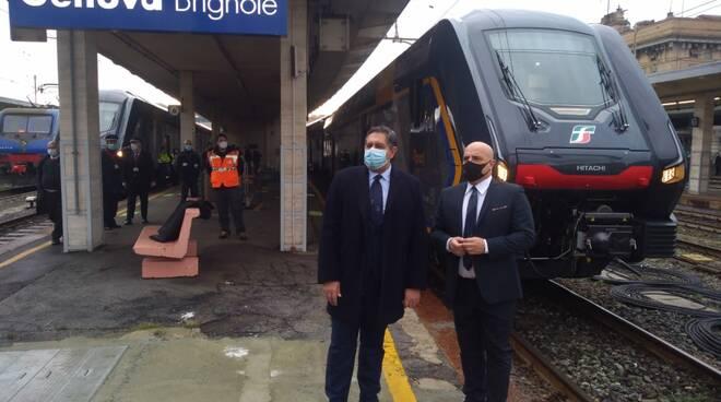 Nuovi treni in Liguria