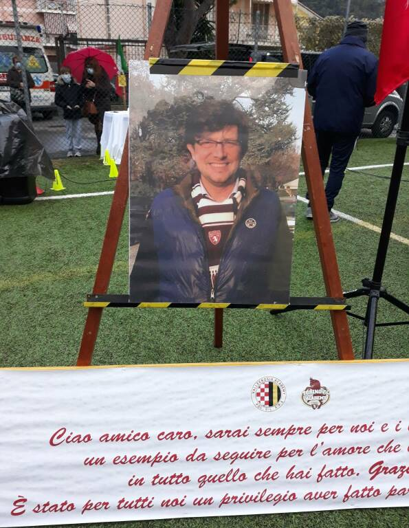 riviera24 - Camporosso, funerale di Mircko Salvaterra