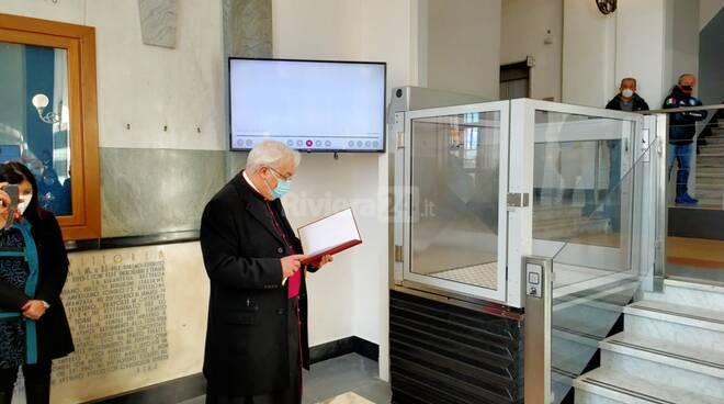 riviera24 - Inaugurazione del nuovo accesso agli uffici comunali Imperia