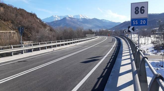 """Strada statale 20 """"del Colle di Tenda e di Valle Roja"""""""